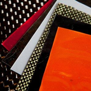 Common fabrics used in Geckskin